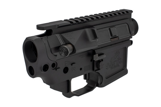 The San Tan Tactical STT-15 Pillar Billet receiver set comes with a fully assembled upper