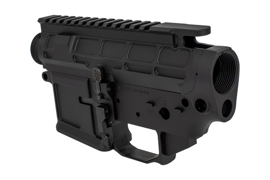 The San Tan Tactical billet AR15 receiver set is compatible with Mil-Spec lower parts kits