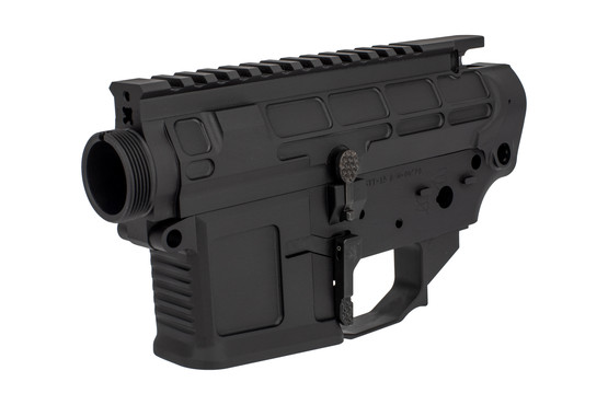 The San Tan Tactical STT-15 Billet Receiver Set is precision machined from 7075-T6 aluminum with black anodized finish