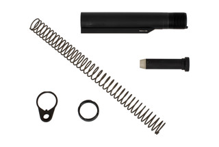 San Tan Tactical 6-Position MIL-SPEC carbine enhanced buffer tube assembly kit with 3 Oz carbine buffer, end plate, and castle nut.
