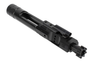 San Tan Tactical Enhanced bolt carrier group for the AR-15 has increased bolt mass for longer dwell time and nitride finish