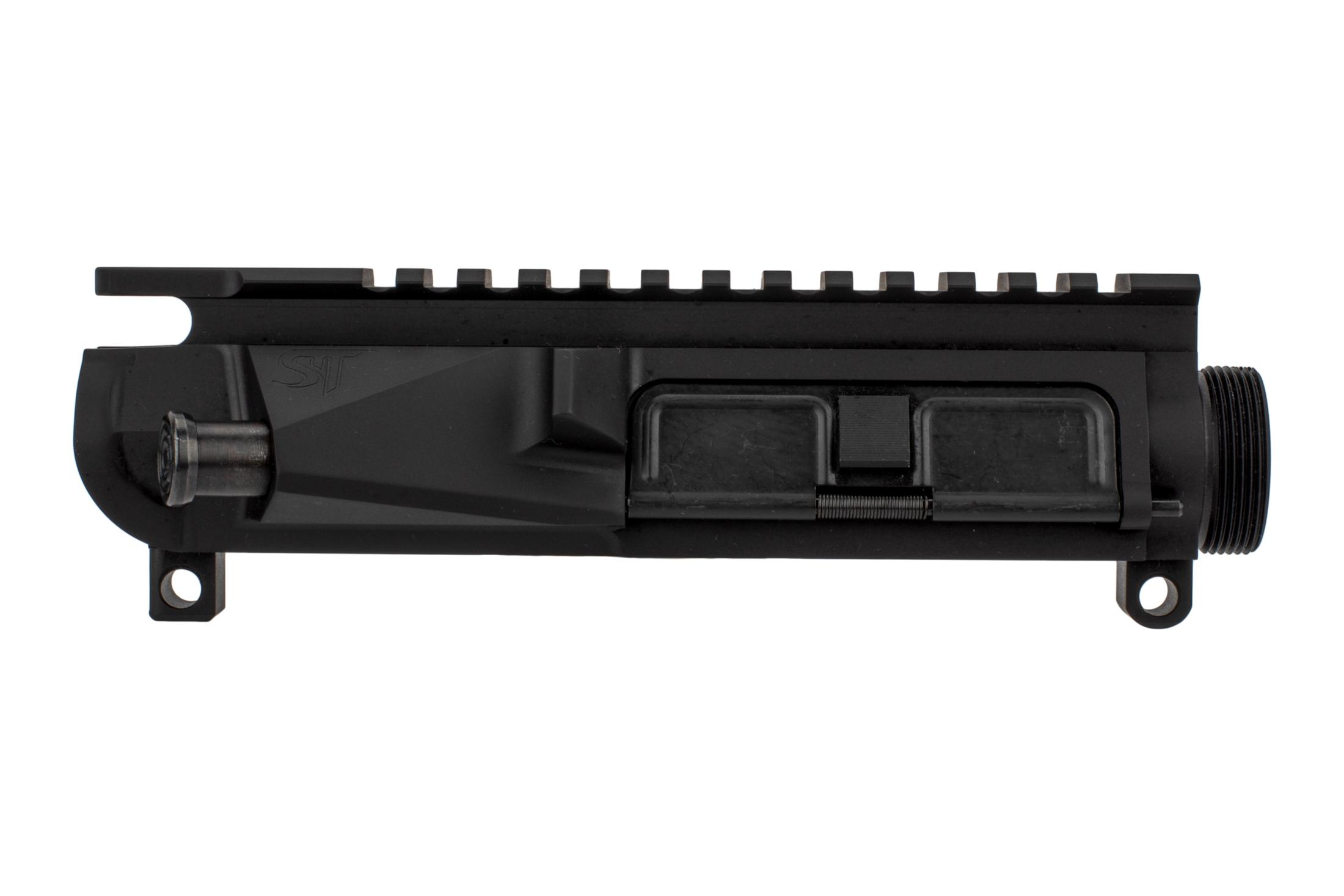 San Tan Tactical billet PILLAR AR-15 upper receiver is 3D CAD designed for weight savings without losing features