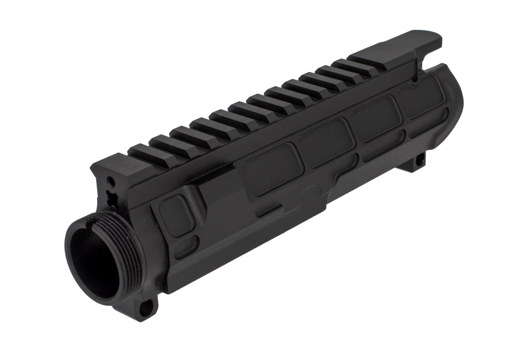 STT billet PILLAR upper receiver features a pocketed face to accept handguards with an integral truss for exceptional strength