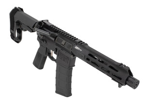 "Springfield Armory Saint Victor AR pistol with 7.5"" 5.56 barrel topped with a linear comp"