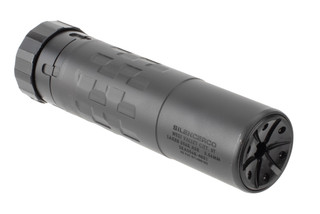 SilencerCo Saker K 5.56 suppressor is a short and lightweight design