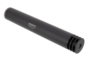 SilencerCo Harvester 300 suppressor features an integral muzzle brake