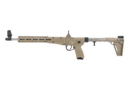 Kel tec Sub 2000 9mm carbine is compatible with glock 17 magazines