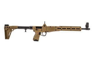 Kel Tec Sub 2000 9mm Pistol caliber carbine is compatible with Glock 19 magazines