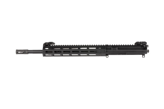 Troy Industries complete upper half with 14.5in barrel features an 11in M-LOK free float handguard and melonited barrel