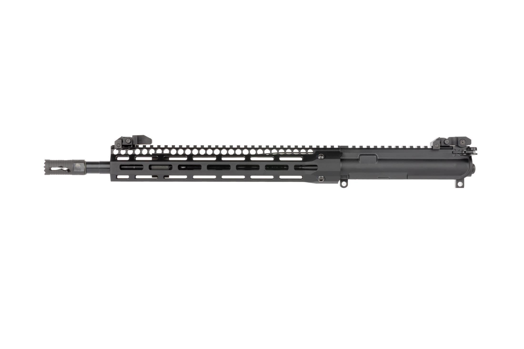 Troy SOCC complete upper features a 14.5in barrel, 13in M-LOK BattleRail, and Troy BattleSights for a ready-to-rock package