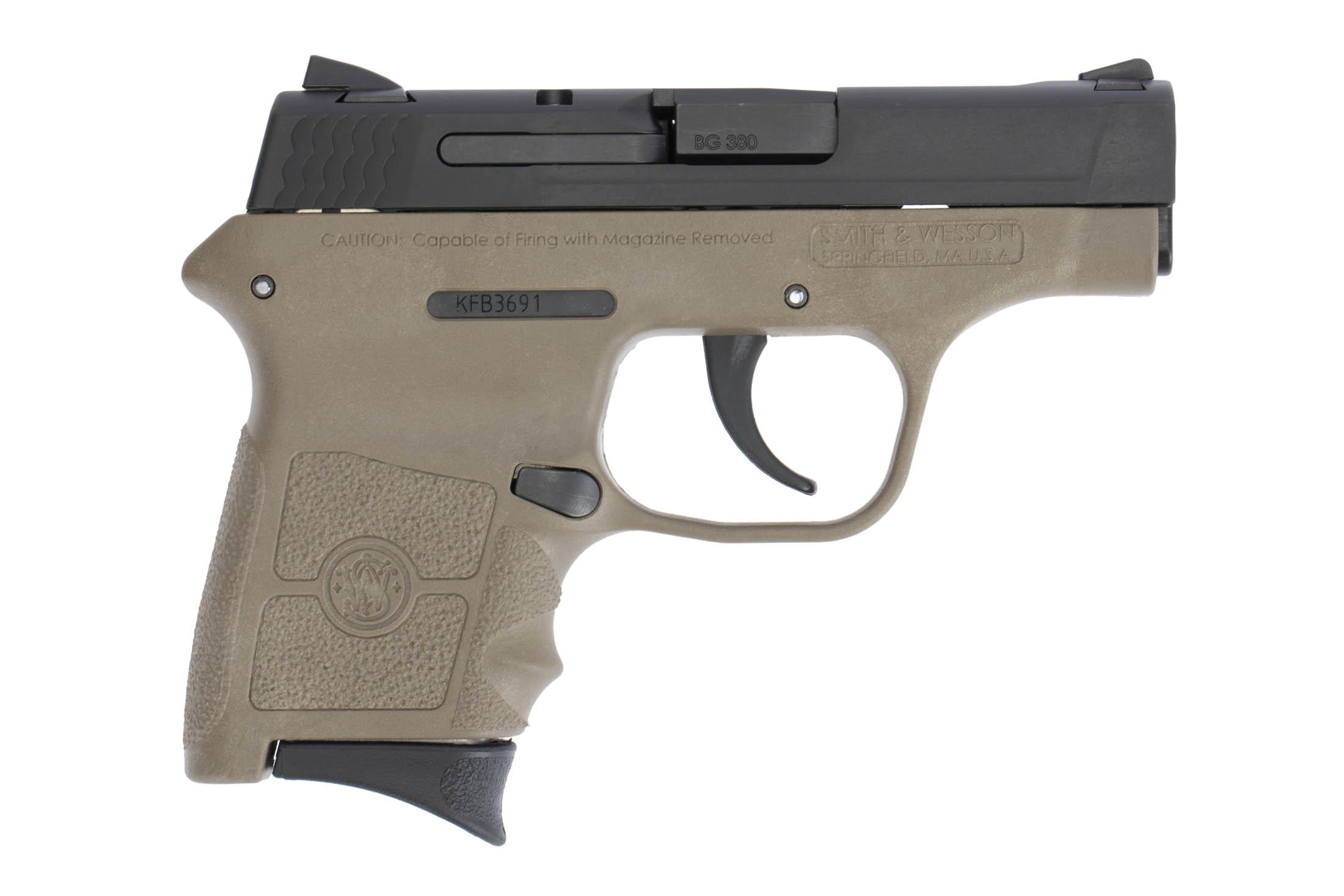 The Smith & Wesson M&P Bodyguard is a .380 ACP Sub Compact 6 round handgun that is designed for concealed carry