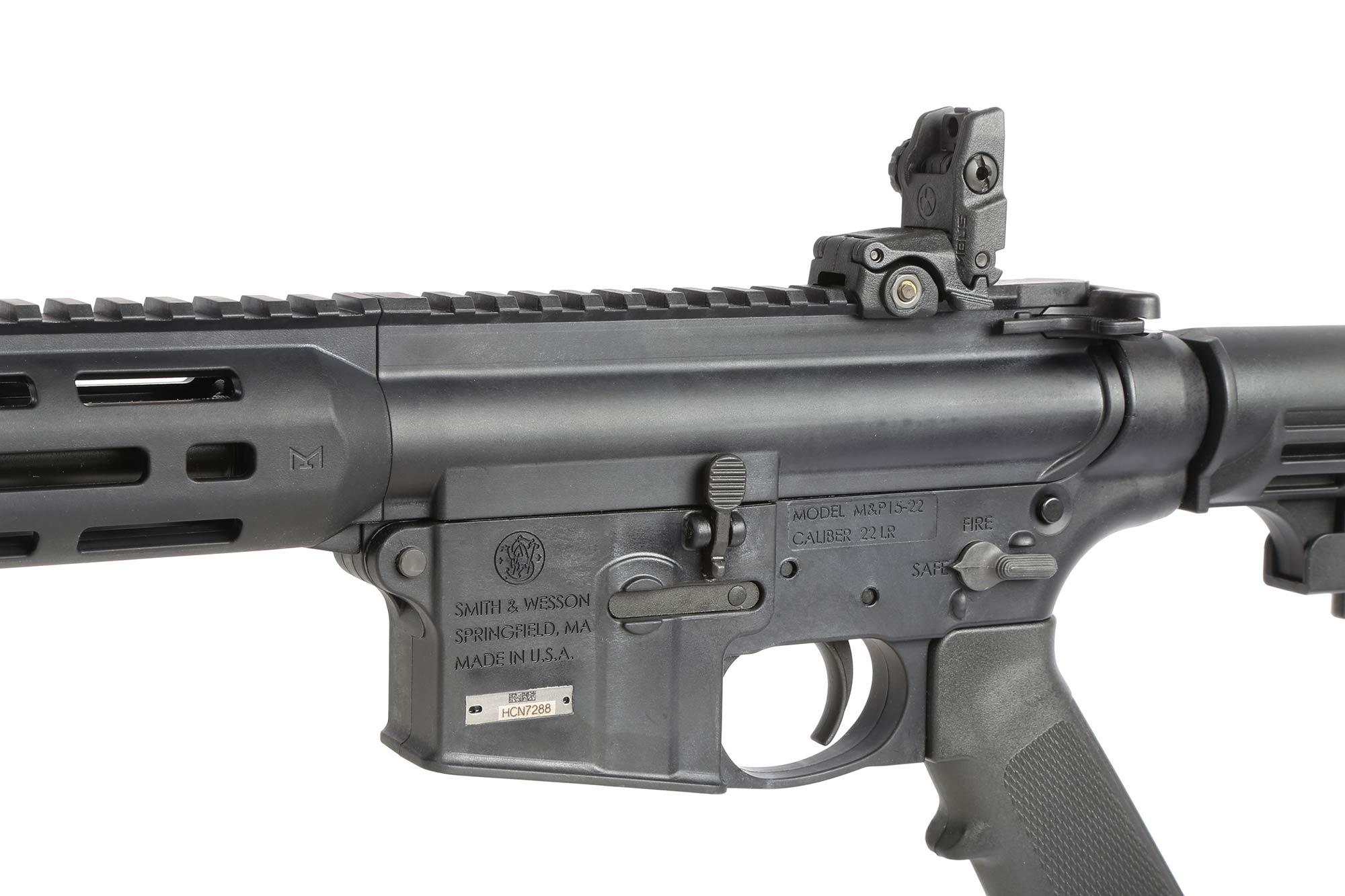 Smith & Wesson M&P15-22 Sport .22lr Rifle - 16.5 - M-LOK Handguard