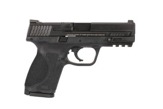 Smith and Wesson's M&P9 M2.0 is a lightweight and compact 9mm pistol perfectly sized for every day carry