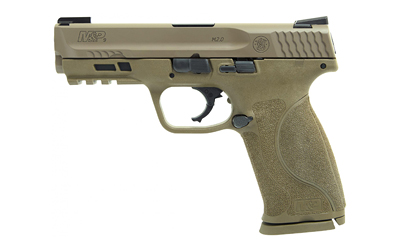 The Smith & Wesson M&P9 2.0 is a 9mm Full Size 17 round Handgun with Night Sights, 4.25 inch Barrel and flat dark earth polymer frame