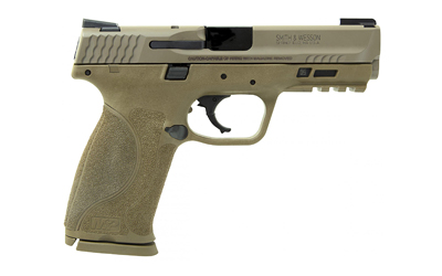 The Smith & Wesson M&P9 2.0 is a 9mm Full Size 17 round Handgun with Night Sights, 4.25 inch Barrel and is designed for duty use