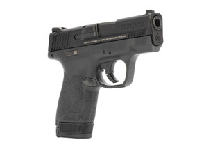 The Smith & Wesson M&P Shield 2.0 9mm Sub Compact 8 round Handgun with thumb safety