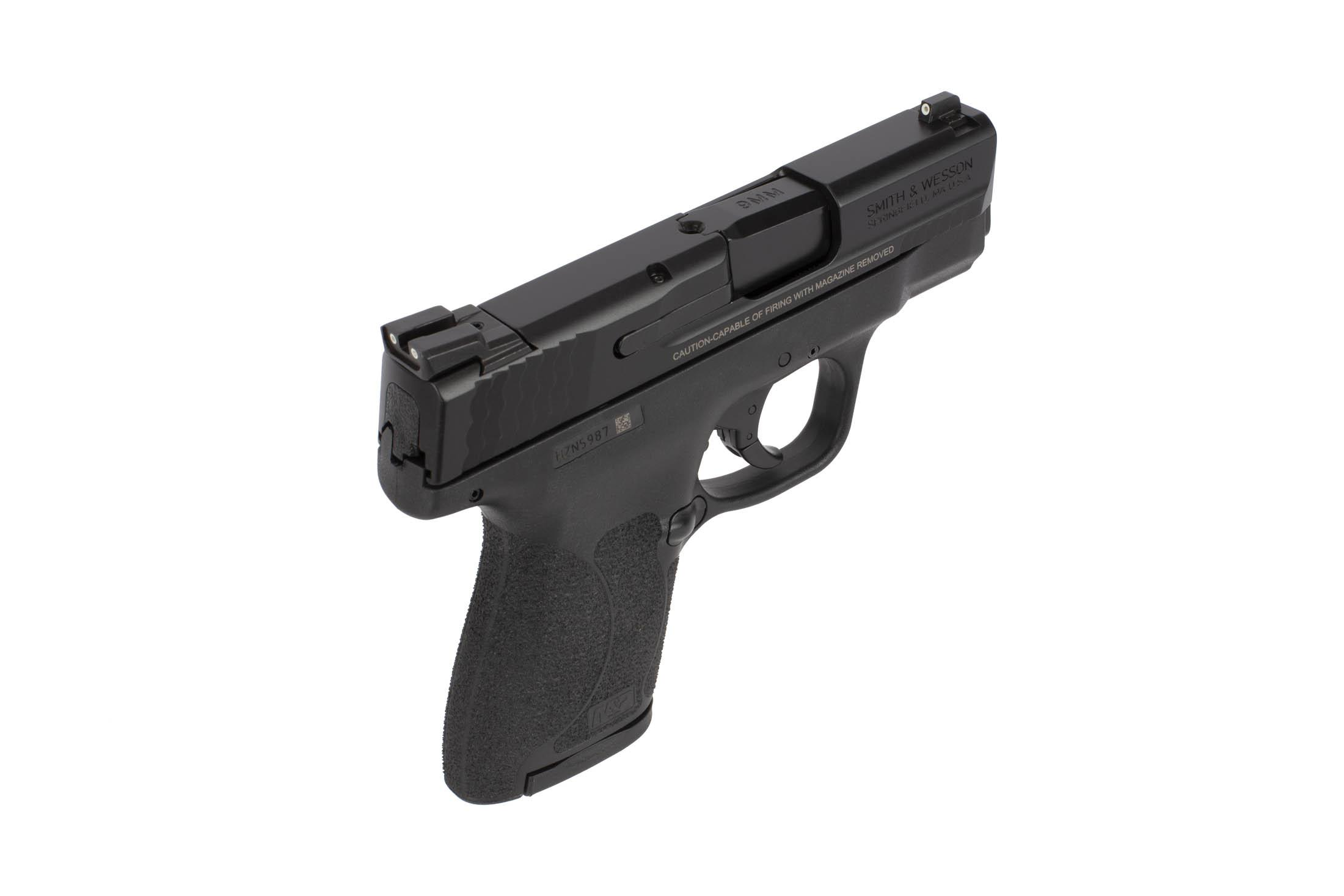 Smith & Wesson M&P Shield 2 0 9mm Sub Compact 8rnd Handgun - Night Sights -  3 1