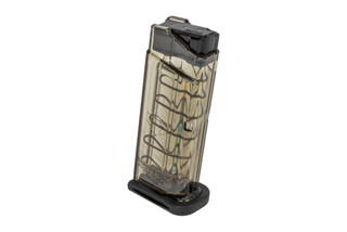 Elite Tactical Systems S&W Shield magazine holds 7 rounds of 9mm in a durable translucent body.