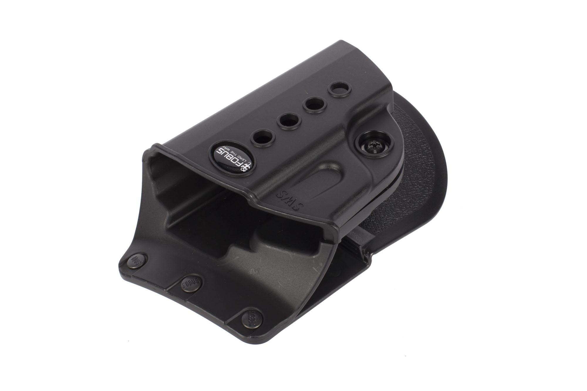 Fobus Evolution Paddle Holster - Walther PPS/Taurus 709/ S&W Shield - Right Hand - Black