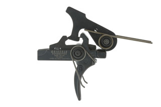 The Geissele Automatics Super Tricon Two Stage AR-15 Trigger fits in standard ar15 and ar308 lower receivers.