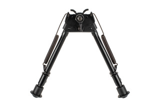 Sport Ridge Pivoting Bipod features quick deploy legs that are adjustable between 9 and 13 inches