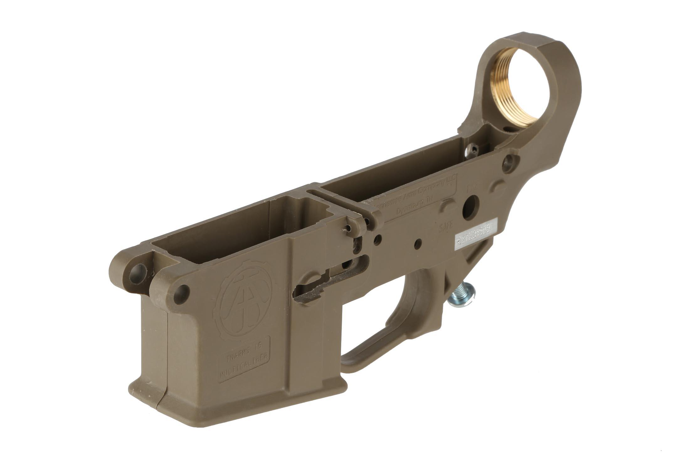 The Tennessee Arms Company Hybrid Polymer Lower Receiver Features Marine Grade Br Inserts For Durability