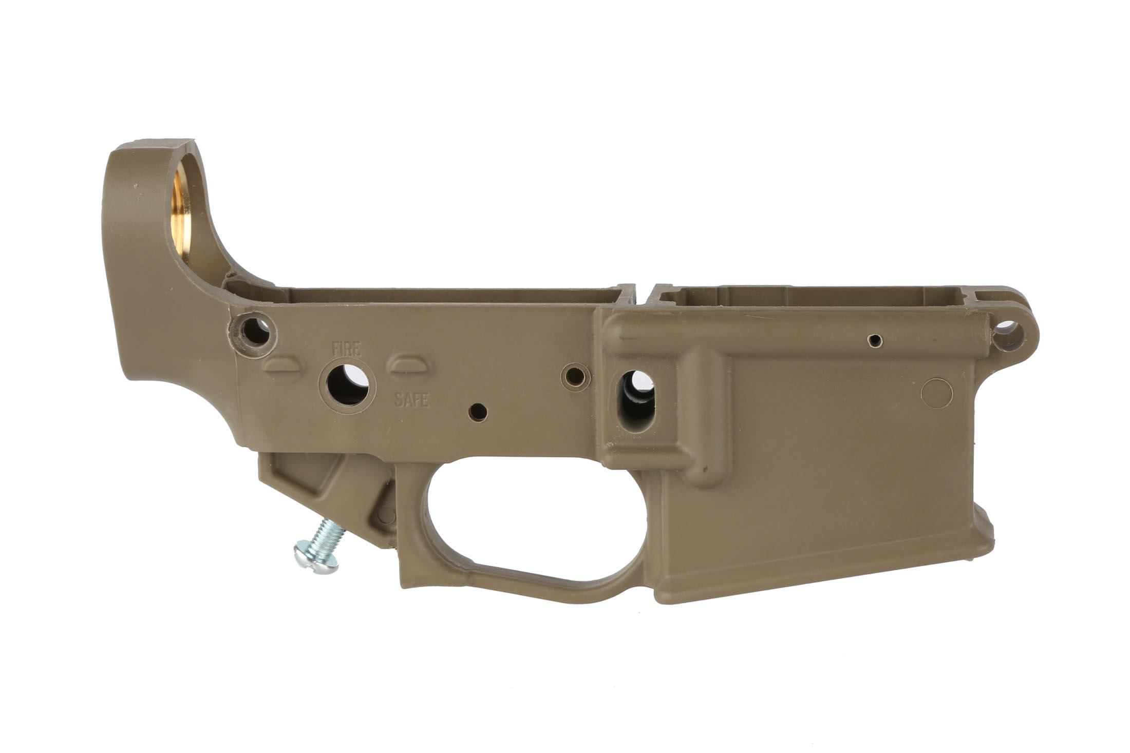 The Tennessee Arms Hybrid Polymer Ar15 Lower Receiver Is Stripped So You Can Finish It With