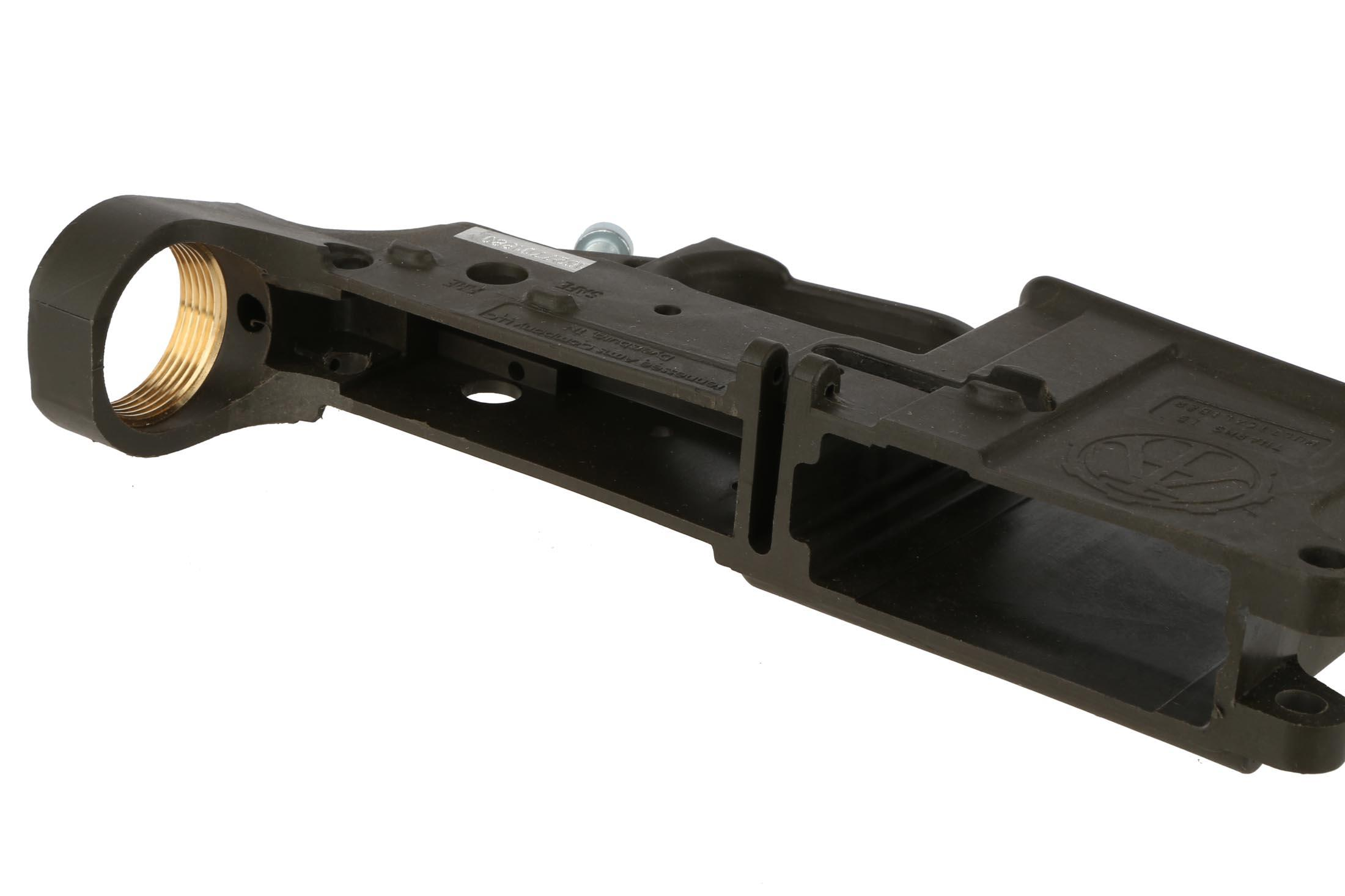 The Od Green Tn Arms Company Polymer Stripped Ar15 Lower Receiver Is Perfect For Building A