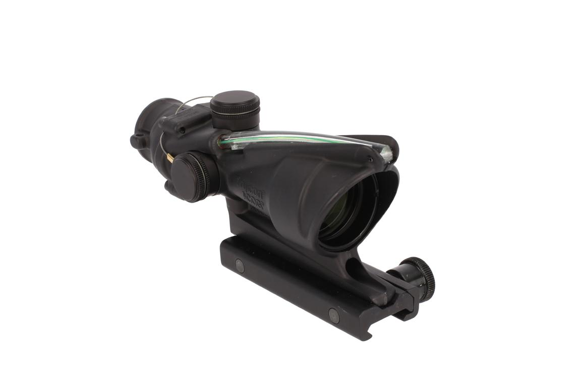 Trijicon ACOG 4x32mm Scope - Dual Illuminated ACSS Reticle - Green