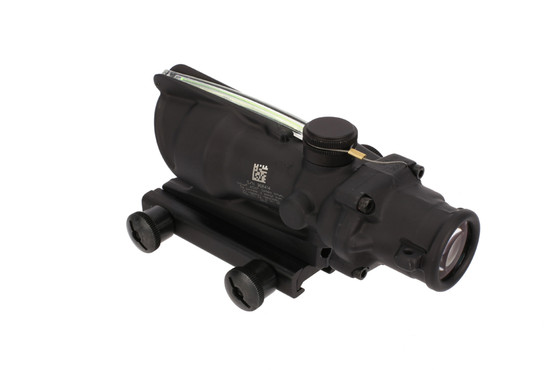 The Trijicon ACOG rifle scope with illuminated ACSS Aurora reticle is a fixed 4 power magnification