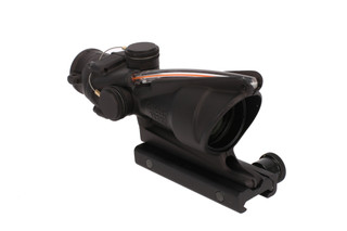 The Trijicon ACOG acss 4x32mm Scope with Dual Illuminated red reticle with tritium inserts