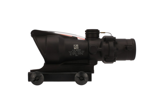 The Trijicon ACOG magnified optic with red ACSS Aurora reticle has a durable construction for use in any environment