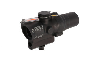 Trijicon mini ACOG 1.5x16mm compact combat scope features a dual-illuminated red ACSS CQB-M5 reticle and high base