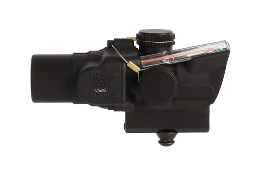Trijicon ACOG 1.5x16S high with ACSS CQB-M5 reticle is a compact prism scope with exceptional glass clarity and red illumination