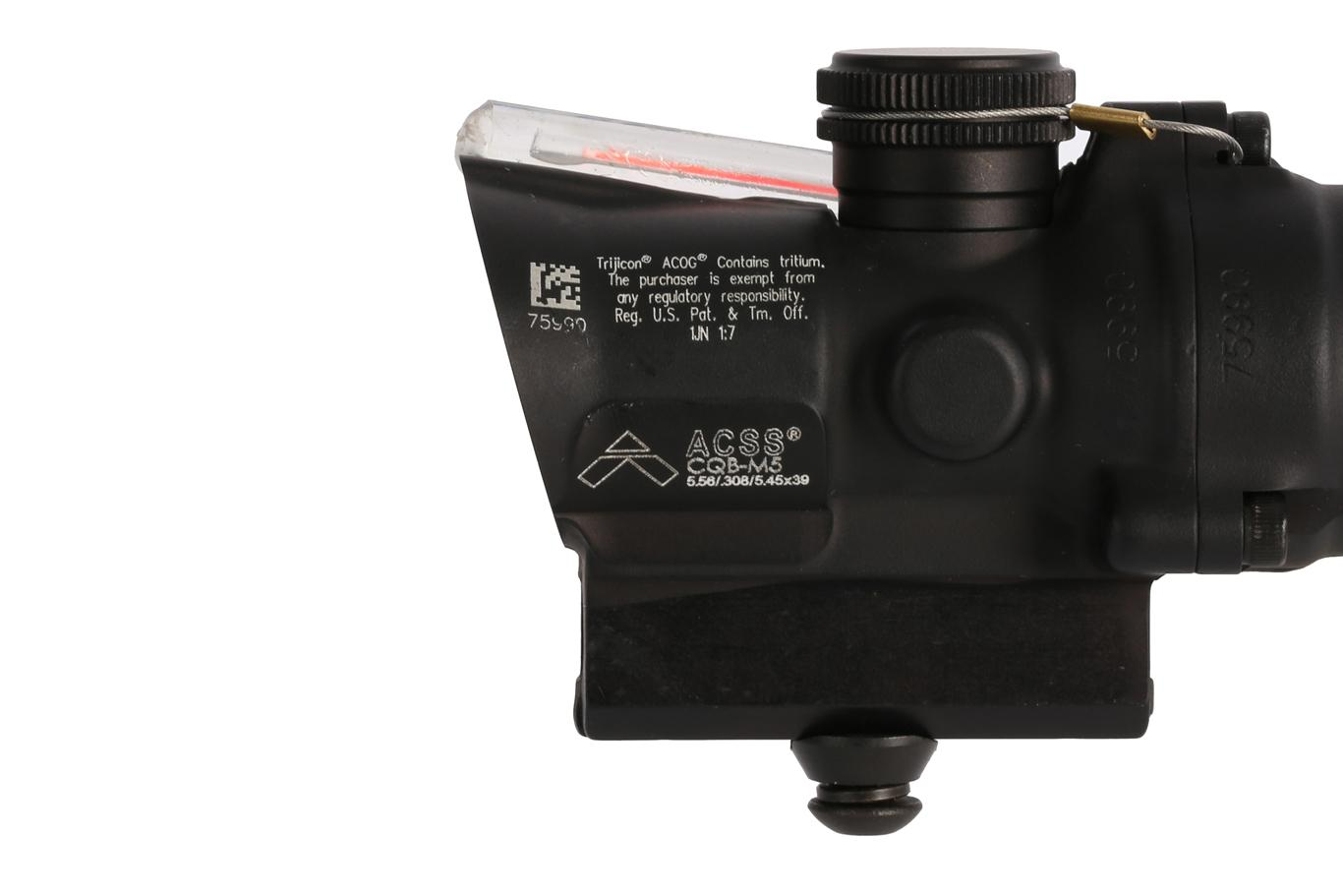 Trijicon ACOG 1.5x16S High Compact Scope - Dual Illuminated ACSS CQB-M5 - Red
