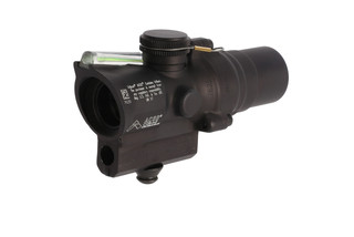Trijicon mini ACOG 1.5x16mm compact combat scope features a dual-illuminated green ACSS CQB-M5 reticle and high base