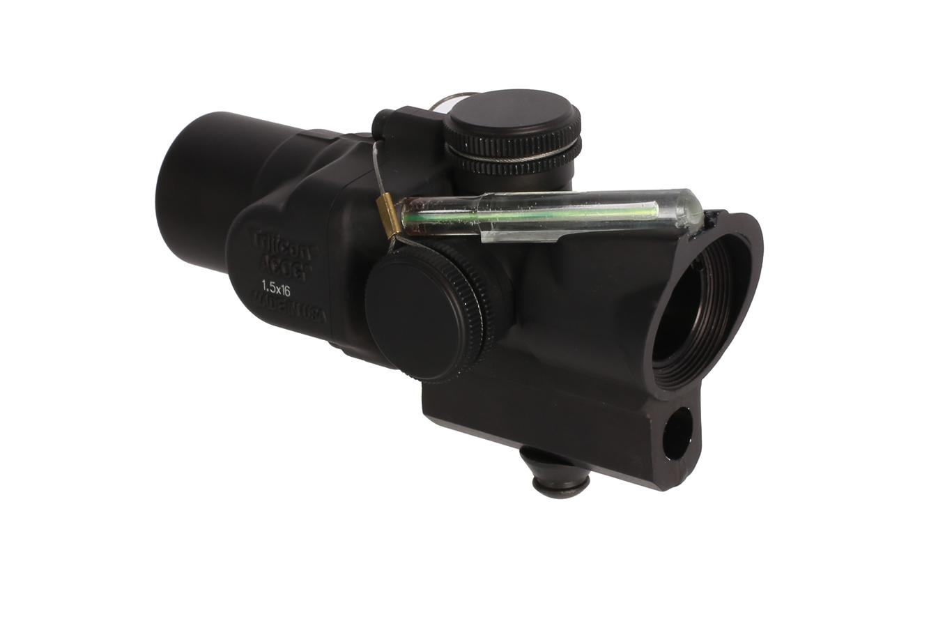 Trijicon ACOG 1.5x16S High Compact Scope - Dual Illuminated ACSS CQB-M5 - Green