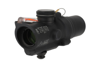 Trijicon mini ACOG 1.5x16mm compact combat scope features a dual-illuminated red ACSS CQB-M5 reticle and low base
