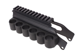 TacStar Shotgun Rail Mount with 12ga 6rd Side Saddle - Remington
