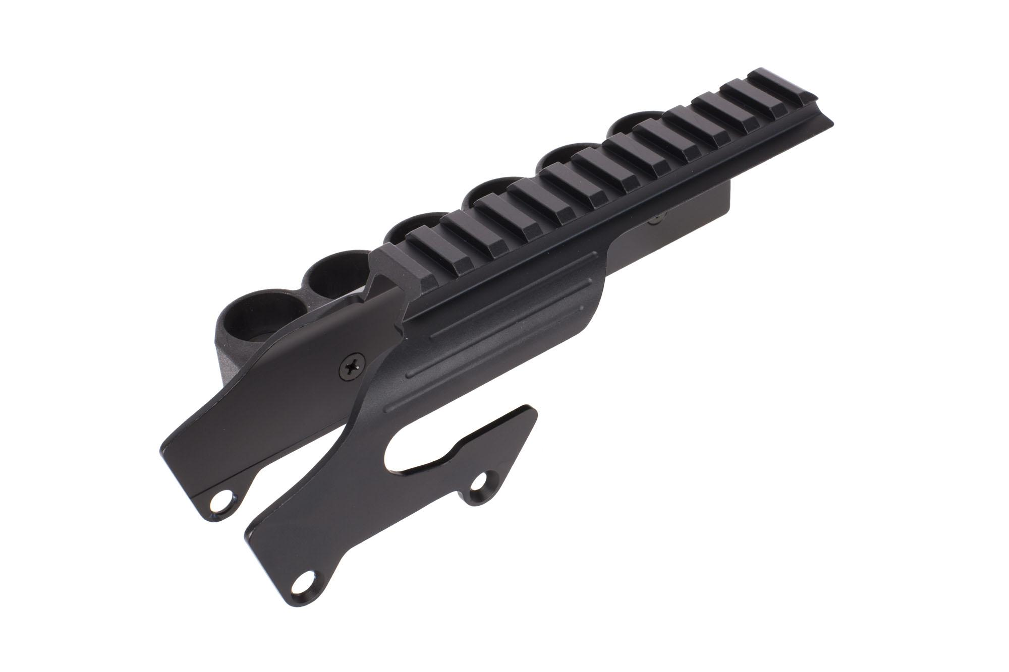 TacStar Shotgun Rail Mount with 12ga 6rd Side Saddle - Remington 870