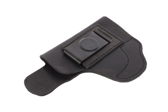 Tagua Super Soft IWB Holster - S&W M&P Shield - Right Hand - Black Leather