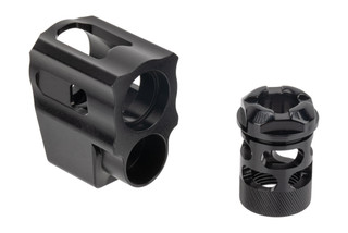 Tyrant Designs Glock 43 Compensator features a two piece design