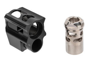 Tyrant Designs Glock Compensator Gen 4 features a two piece design