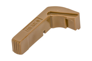 Tango Down Vickers Tactical Glock Magazine Release Gen 3 features a brown finish
