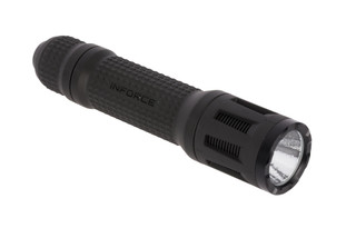 The Inforce TFx tactical flashlight boasts up to 700 lumens of bright white LED light