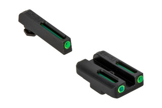 The Truglo TFO Glock Sight Set features Tritium and fiber optics for use at night or during the day
