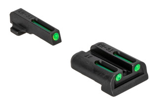 TRUGLO TFO sight set combines fiber optics and tritium lamps for your favorite SIG handguns with #6 and #8 sights.