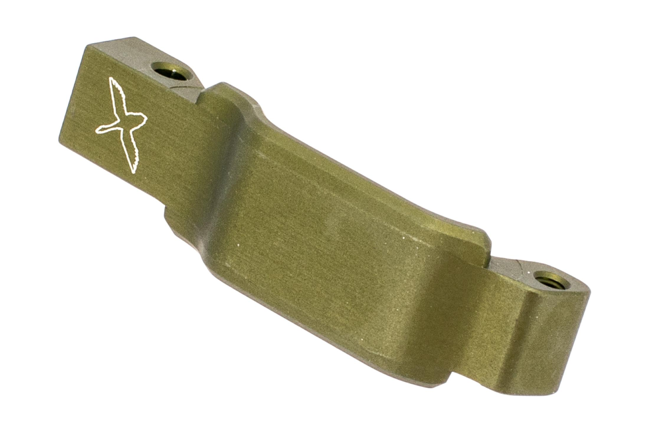 Forward Controls Design Winterized trigger guard with odg anodized finish