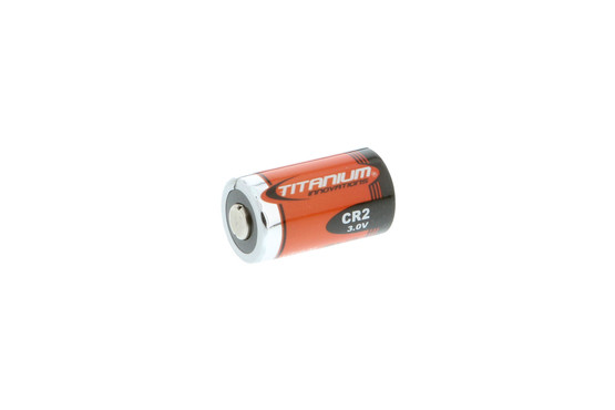 The Titanium Innovations CR2 lithium battery is extremely reliable even in extreme temperatures
