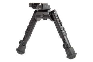 The Leapers UTG Heavy Duty Recon 360 Bipod comes with a picatinny rail attachment